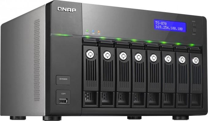 QNAP TS-870 Business-class NAS