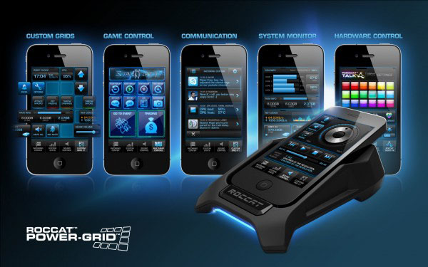 ROCCAT Power Grid Mobile App