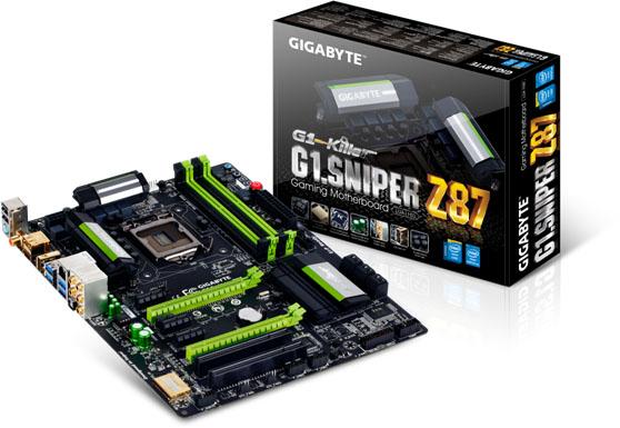 GIGABYTE G1 Sniper Z87 Motherboard