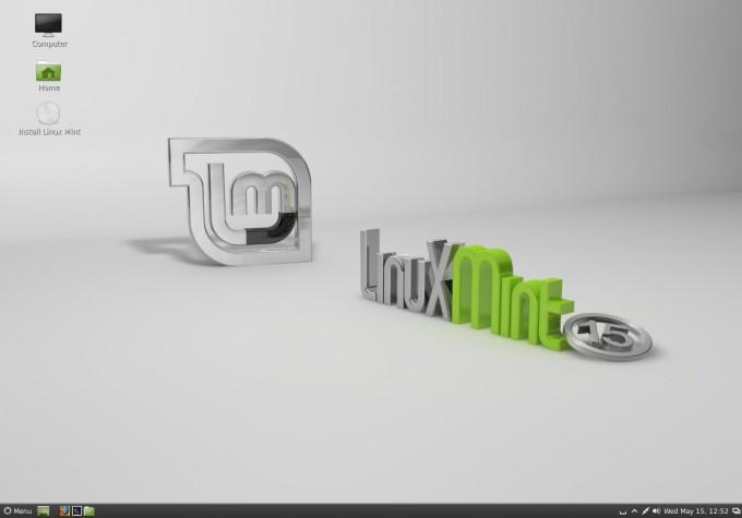 Linux Mint 15 Cinnamon