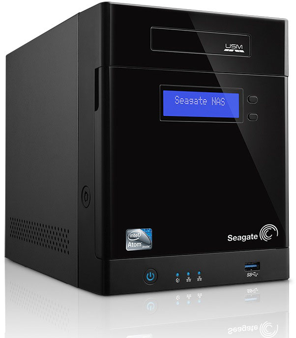 Seagate Business Storage 4--bay NAS