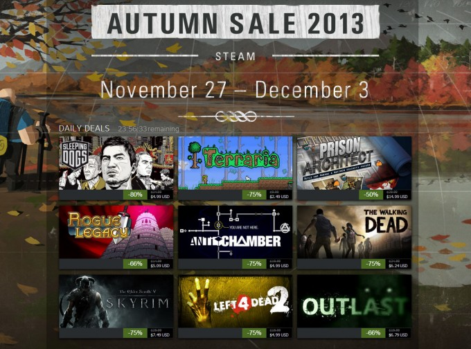 Steam 2013 Autumn Sale
