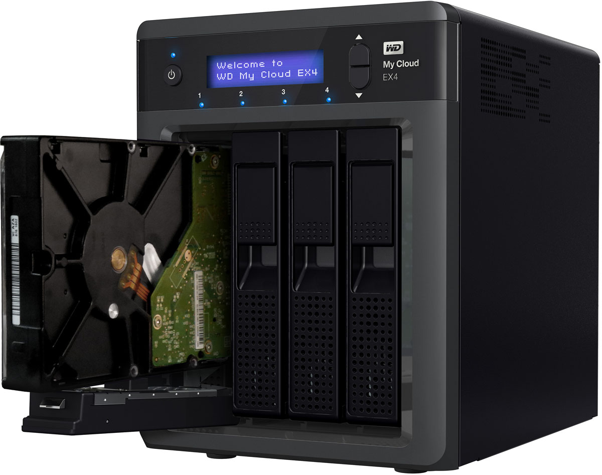 Wd My Cloud Ex4 Personal Cloud Storage Nas Review Techgage