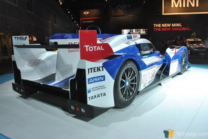 Toyota TS030 Hybrid LeMans Prototype