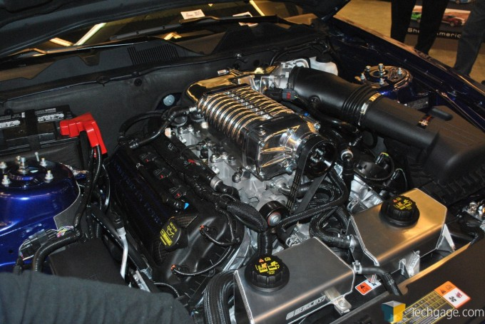 Shelby Mustang V8 with Supercharger