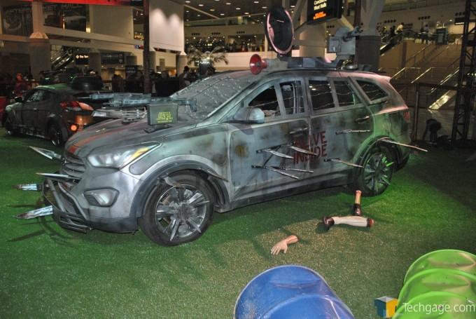Hyundai Zombie Apocalypse