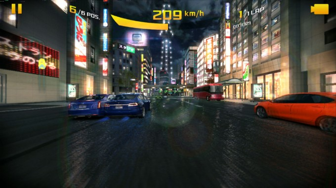 Asphalt 8 - NVIDIA SHIELD