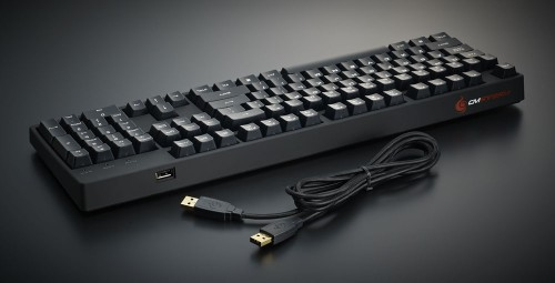CM Storm QuickFire XT Mechanical Keyboard Press Shot
