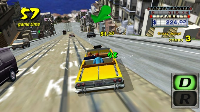 Crazy Taxi - NVIDIA SHIELD