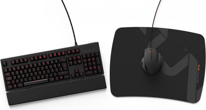 Func KB-460 and F-Series 10XL Mousepad