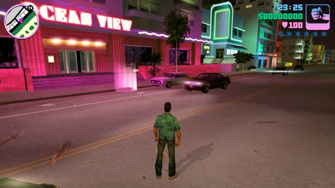 Grand Theft Auto Vice City - NVIDIA SHIELD