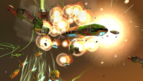 Homeworld Ingame Screenshot 02