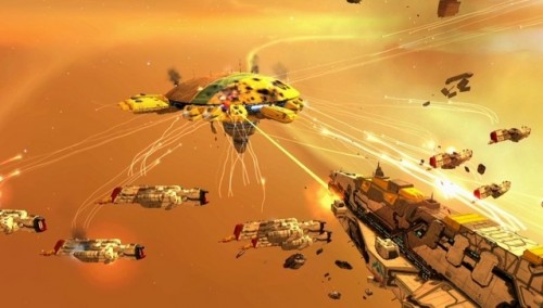 Homeworld Ingame Screenshot