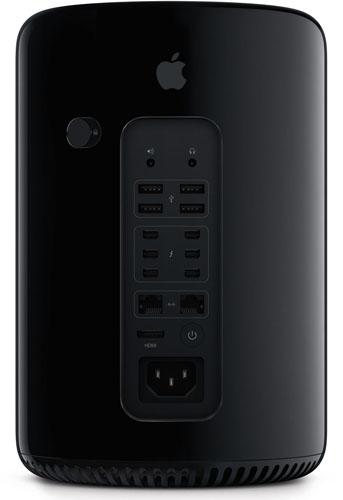 Mac Pro 2013 Backside