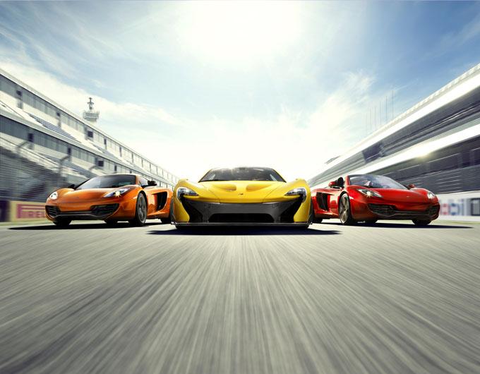 McLaren Lineup Graphic