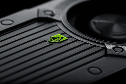NVIDIA GeForce GTX 760 Black Background