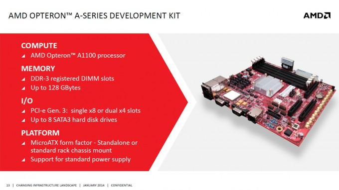 AMD Seattle ARMv8 Opteron A1100 - Development Kit