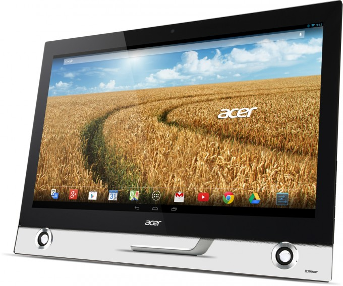 Acer's TA272 HUL All-in-One PC Runs Android, Features 2560×1440 Touchscreen