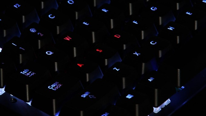 Corsair CHERRY MX RGB Mechanical Keyboard - WASD