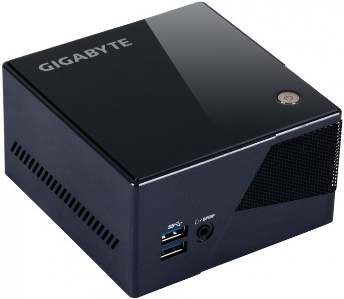 GIGABYTE BRIX Pro Intel Iris Mini-PC - Black