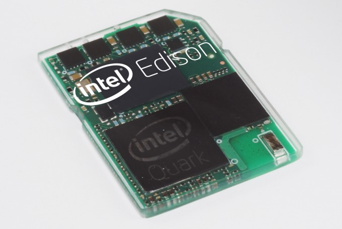 Intel Edison - PC the Size of an SD Card
