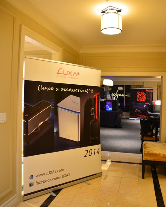 LUXA2 at CES 2014