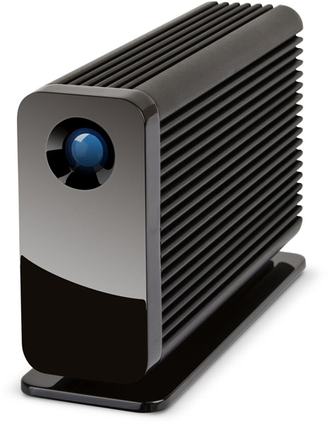 LaCie Little Big Disk Thunderbolt 2 - Angled