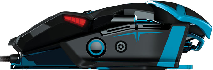 Mad Catz RAT TE Gaming Mouse - Side