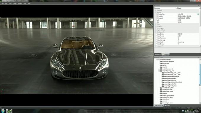 NVIDIA Iray Maserati Configurator