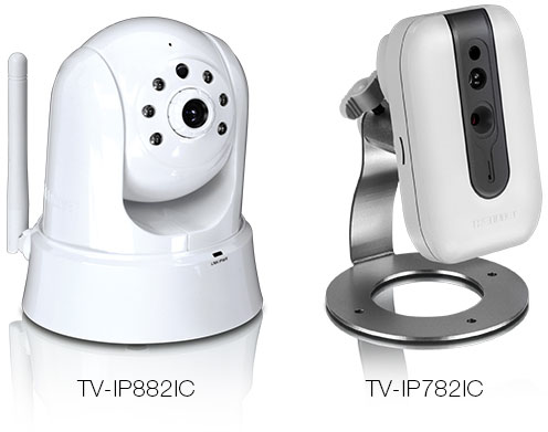 TRENDnet TV-IP882IC TV-IP782IC AC IP Cameras