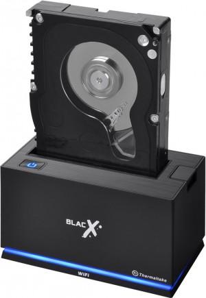 Thermaltake Adds Wi-Fi to its BlacX Hard Drive Dock