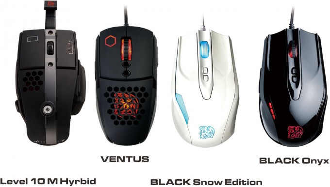 Thermaltake's eSPORTS Line Greets Four New Gaming Mouse Models