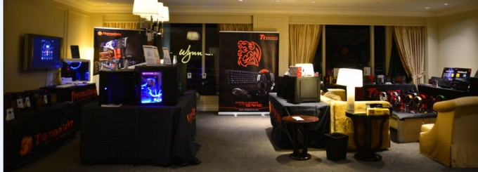 A Tour of Thermaltake's Suite at CES 2014