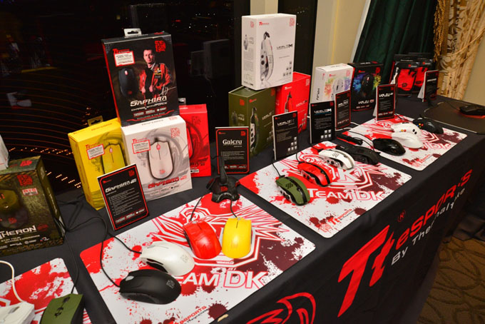 Tt eSPORTS Gaming Mice at CES 2014