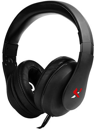X2 Aurel Headphones Stock Photo