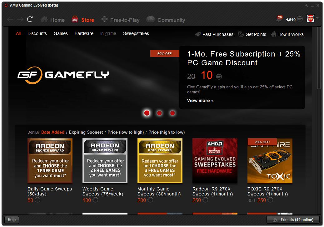 <b>AMD</b> arrête le support de son <b>application</b> <b>Gaming</b> <b>Evolved</b> ...
