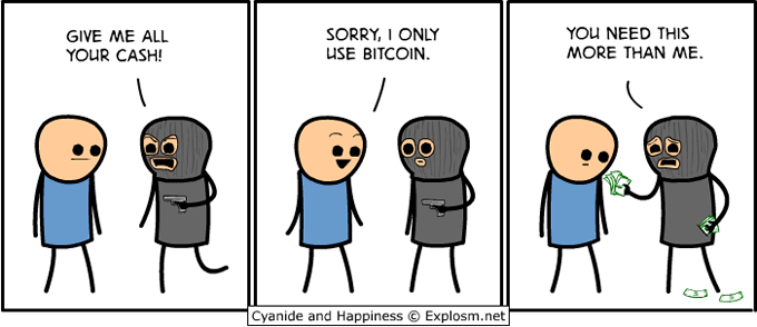 Cyanide and Happiness - Bitcoin