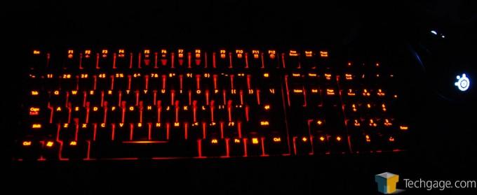 Func KB-460 Gaming Mechanical Keyboard - Backlighting