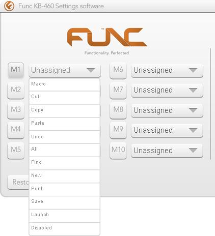 Func KB-460 Gaming Mechanical Keyboard - Macro Creation