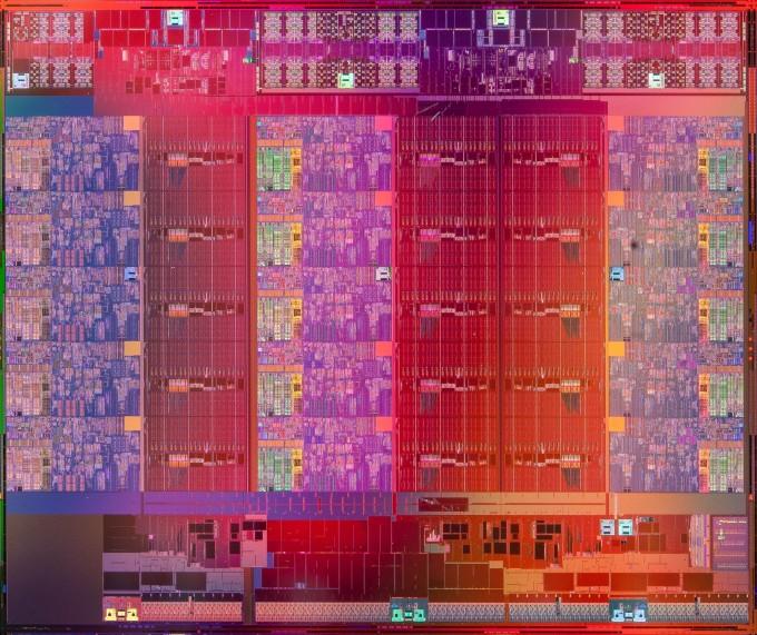 Intel Xeon E7 v2 Die