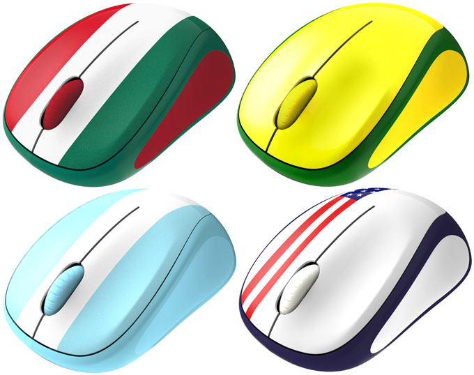 Logitech M235 Global Fan Collection Mice