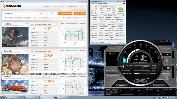 NVIDIA GeForce GTX 750 Ti - Overclock
