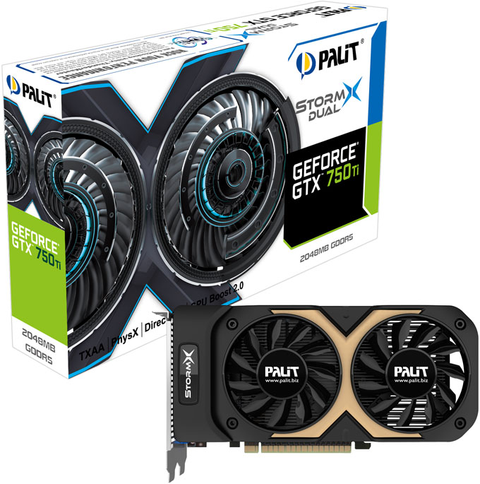 Palit GeForce GTX 750 Ti