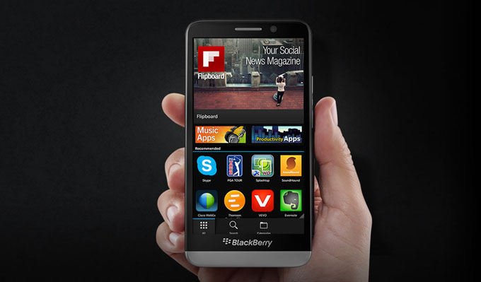 BlackBerry Z30 Smartphone Apps