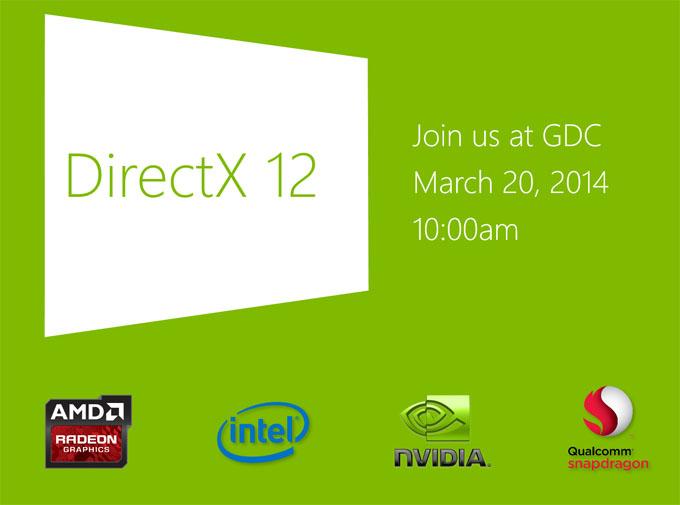 DirectX 12 Pre-announcement