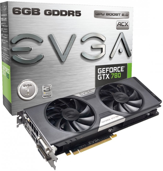 EVGA GeForce GTX 780 ACX 6GB