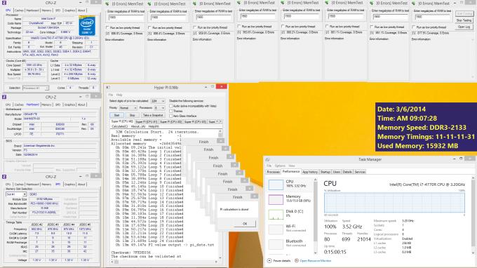 G.SKILL Ripjaw 16GB 2133MHz - GIGABYTE BRIX Pro