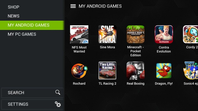 NVIDIA SHIELD Update Spring 2014 - Updated TegraZone
