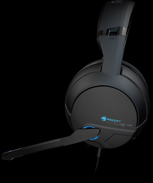 ROCCAT Kave XTD Gaming Headset - Side