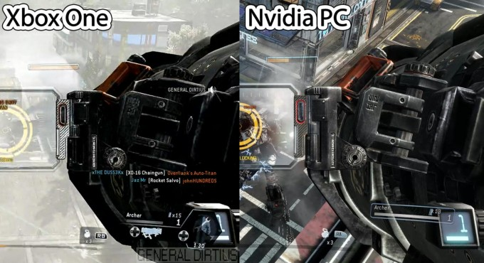 Titanfall - Xbox One vs PC